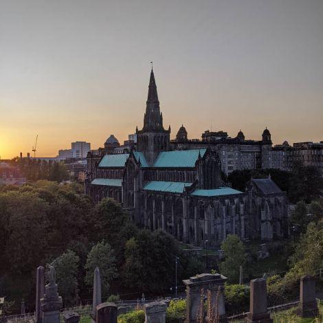 Die Glasgow Cathedral ist die älteste Kathedrale auf dem schottischen Festland…
