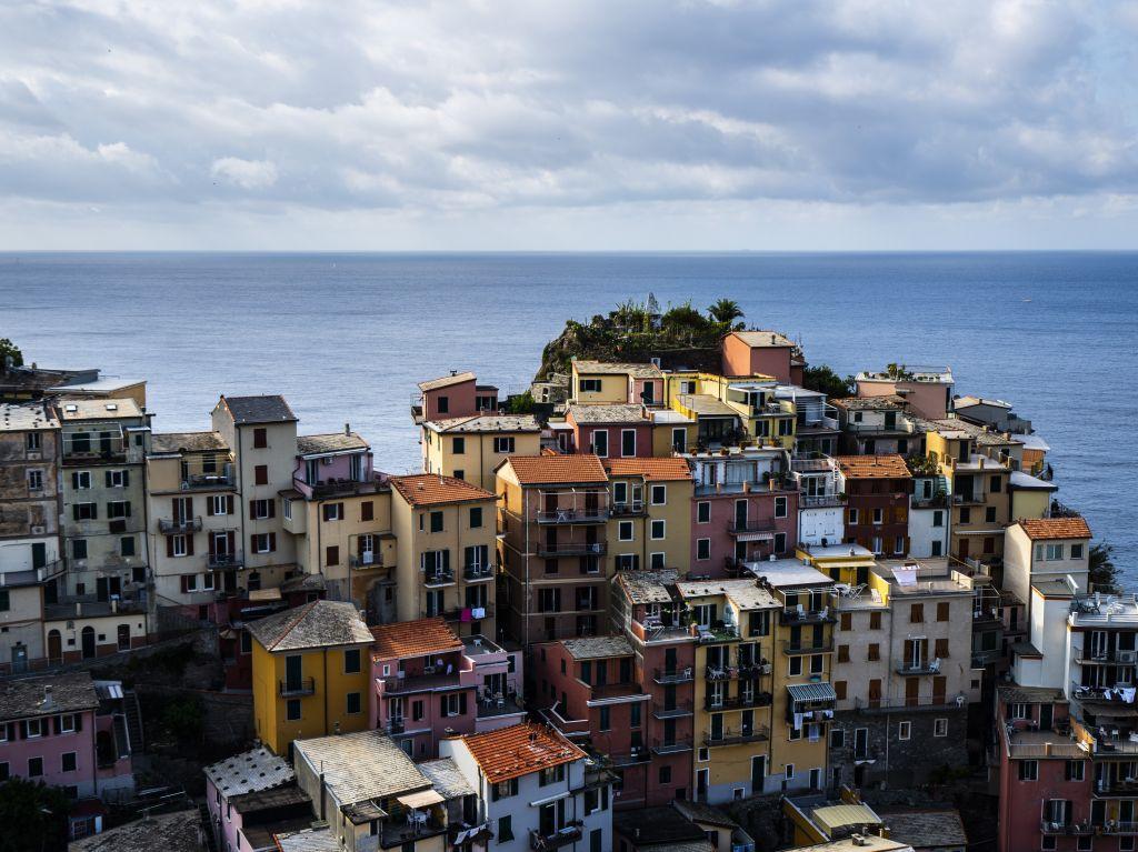 Dorf in Cinque Terre