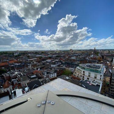 Blick auf Groningen von oben