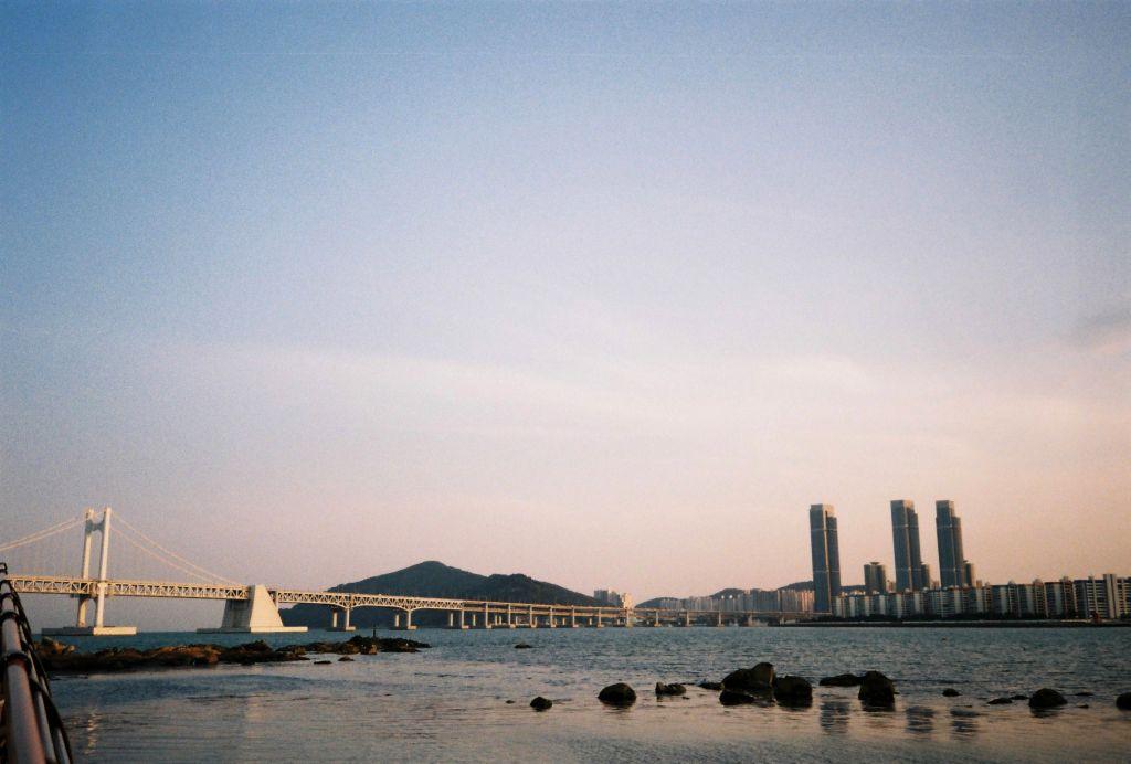 Sonnenuntergang in Busan