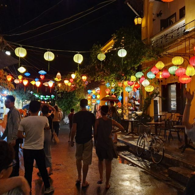 Sightseeing in Hoi An und den Lampignongs.