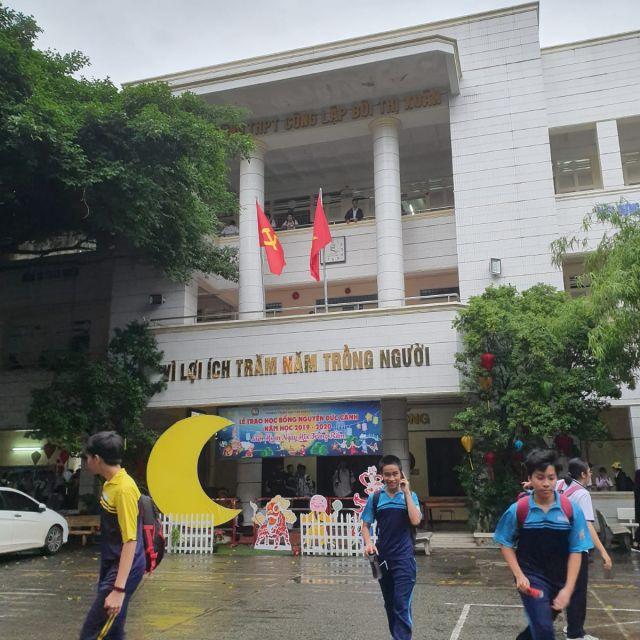 Eine Schule in Ho Chi Minh Stadt.