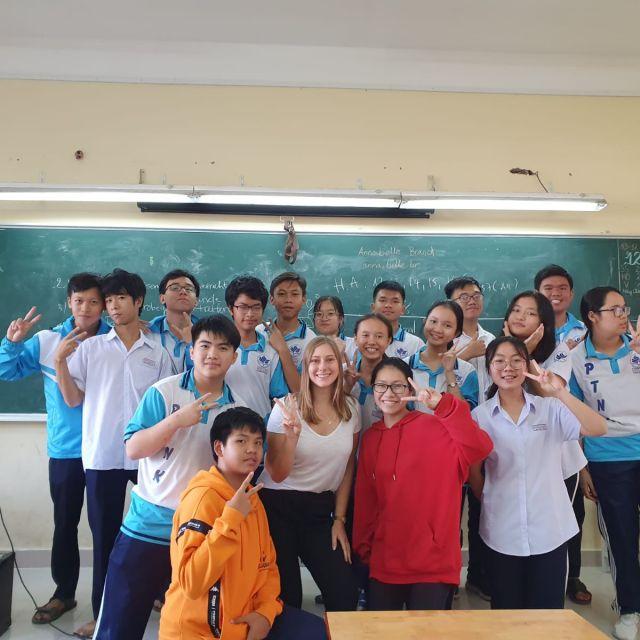 Gruppenfoto mit meiner Samstags-Klasse.