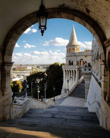 Einer meiner liebsten Plätze in Budapest: die Fischerbastei in dem Burgviertel.