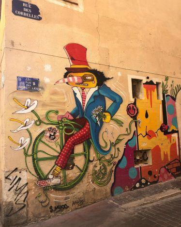 Graffiti in Marseille…