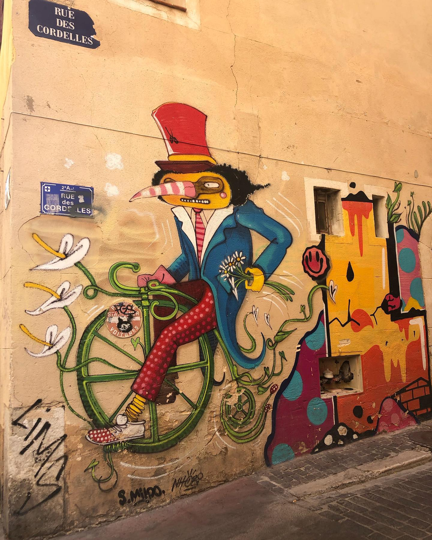 Graffiti in Marseille…