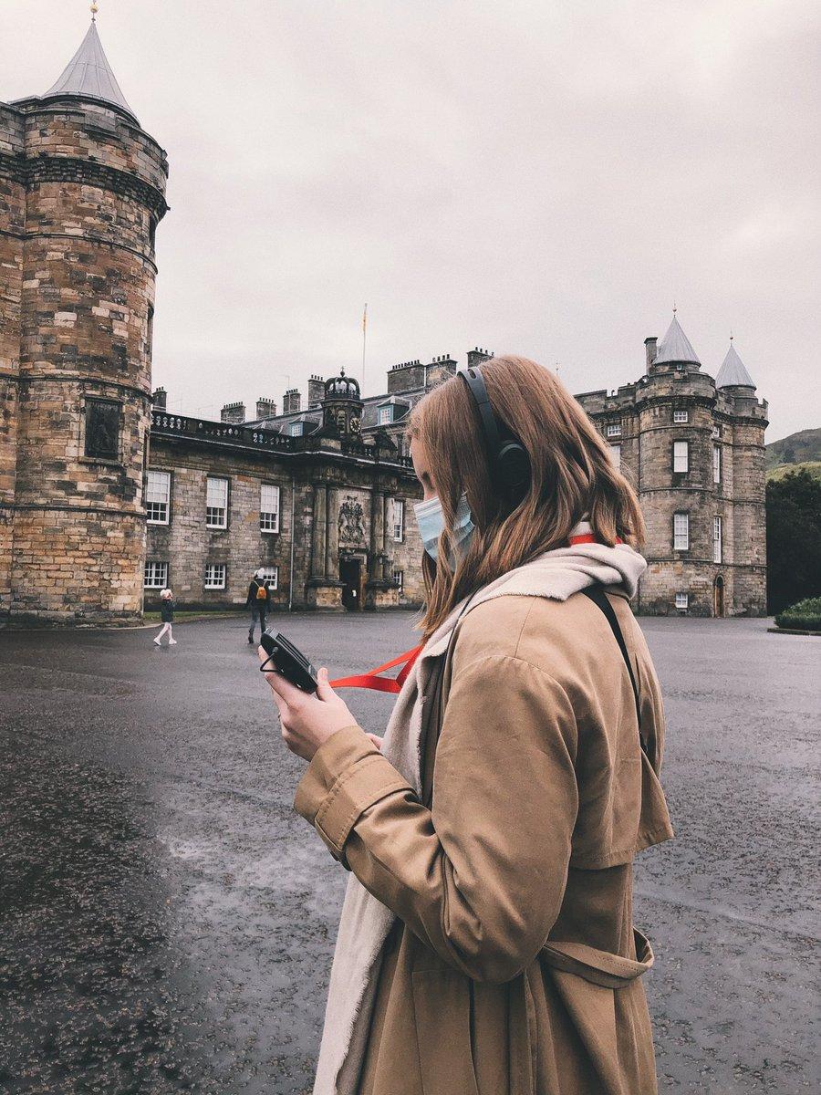 Ein bisschen Kultur am Sonntag: Heute habe ich den Holyrood Palace besucht, in…