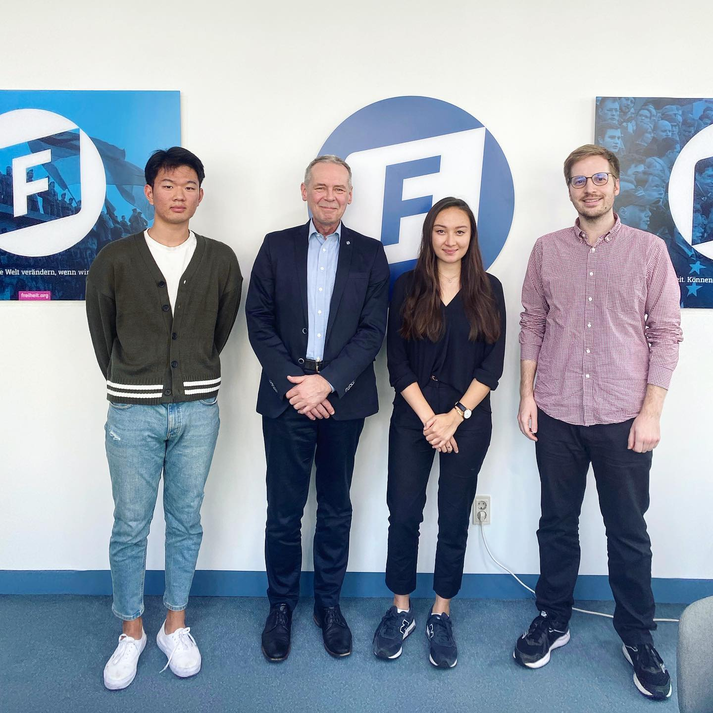 Today I had the opportunity to visit the Korea office of the Friedrich-Naumann…