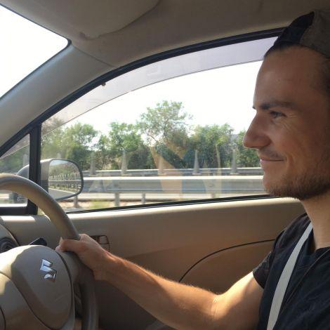 Mein Gesicht nach längerer Fahrerfahrung