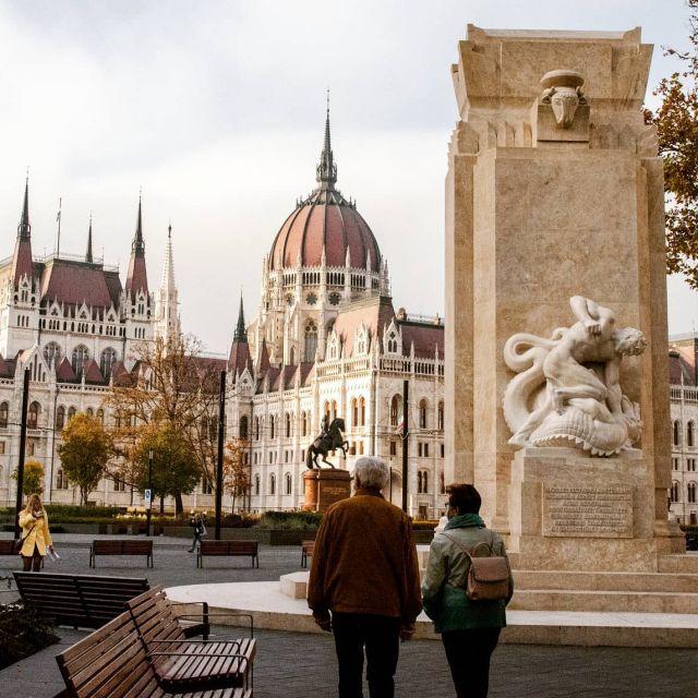 Das Parlament in Budapest.