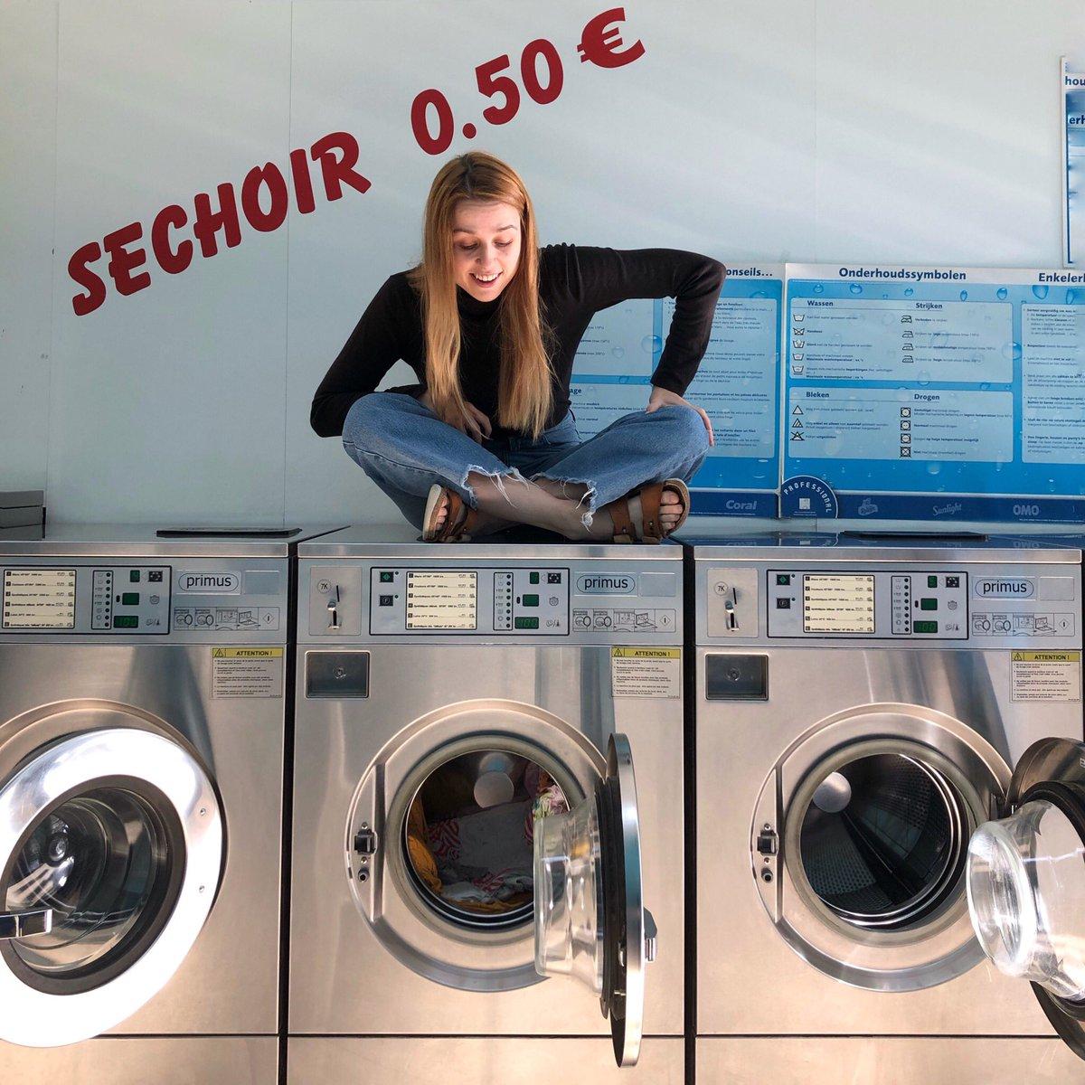 Viele Häuser in Brüssel haben keine Waschmaschine - so auch leider meins.…