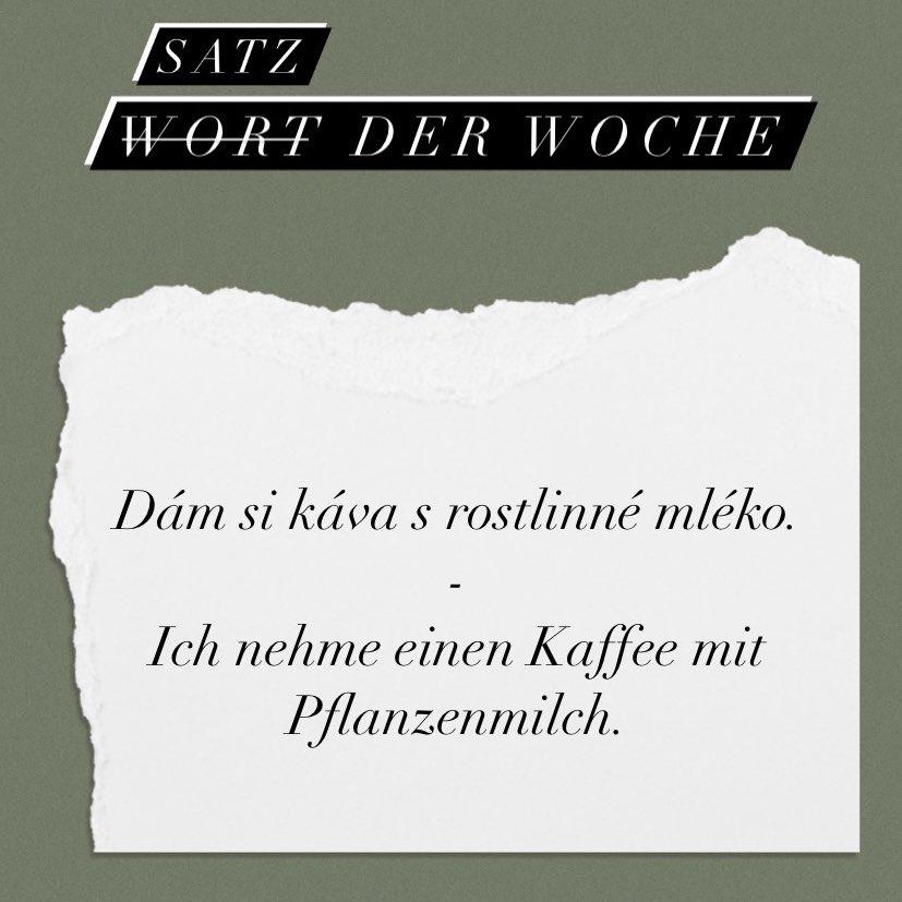 Diese Woche ist mir meine erste Bestellung auf Tschechisch gelungen 😍 Auch…
