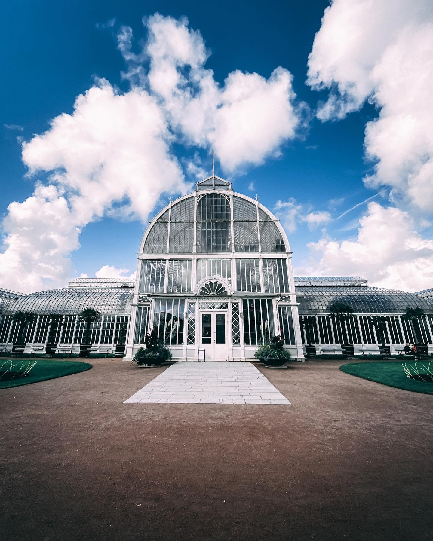 Eigentlich soll das #Palmhuset in Göteborg auch innen sehr beeindruckend…