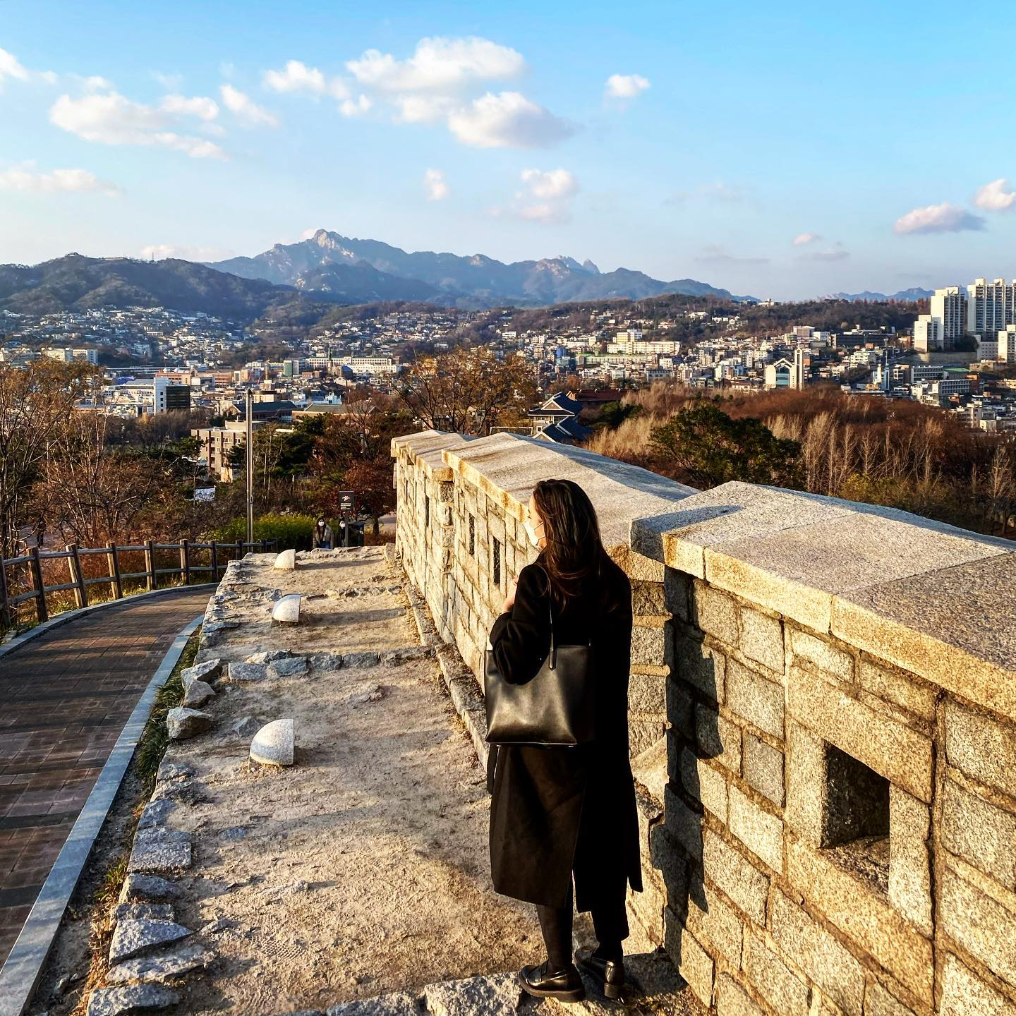 [Seoul Fortress] A moment of peace and serenity before all the upcoming exams…