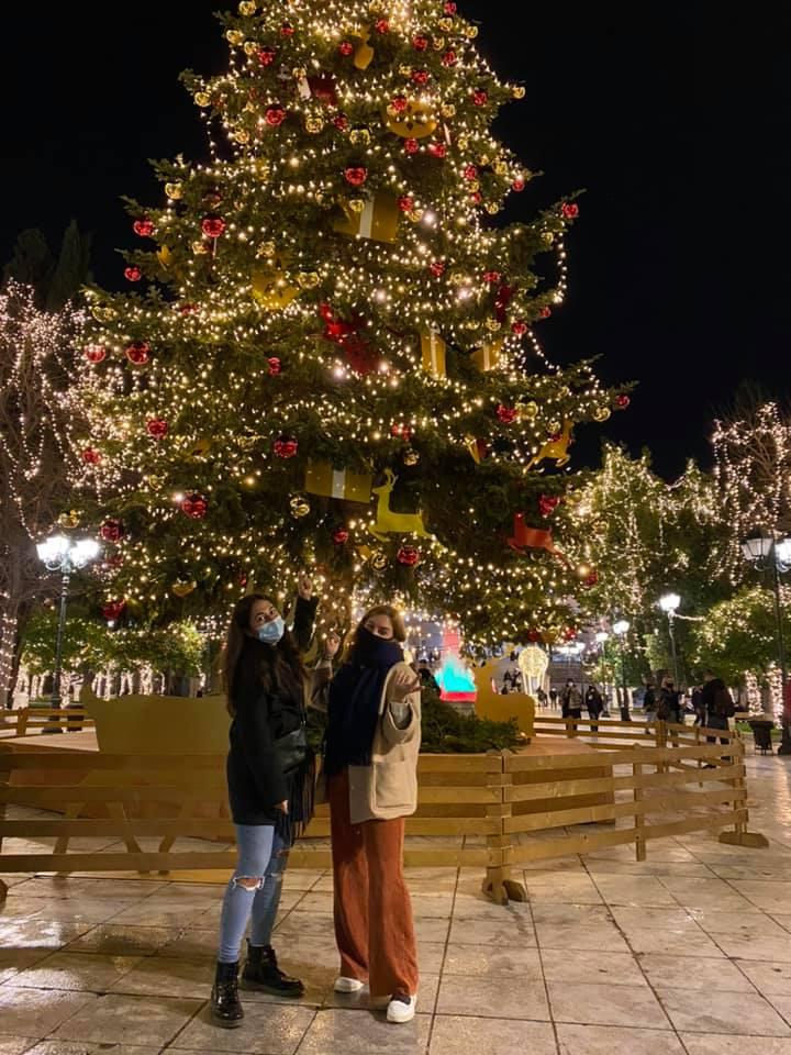 Καλά Χριστούγεννα – Frohe Weihnachten aus Griechenland!…