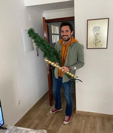 Bei Weihnachtsstimmung auf Mitte-August-Niveau habe ich der WG einen Baum…