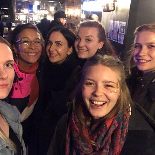 Selfie mit Freunden