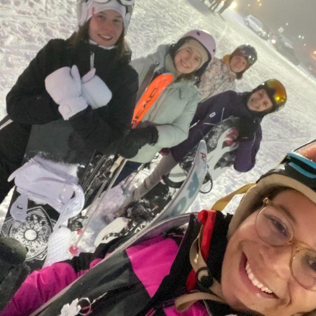 Selfie auf der Skipiste