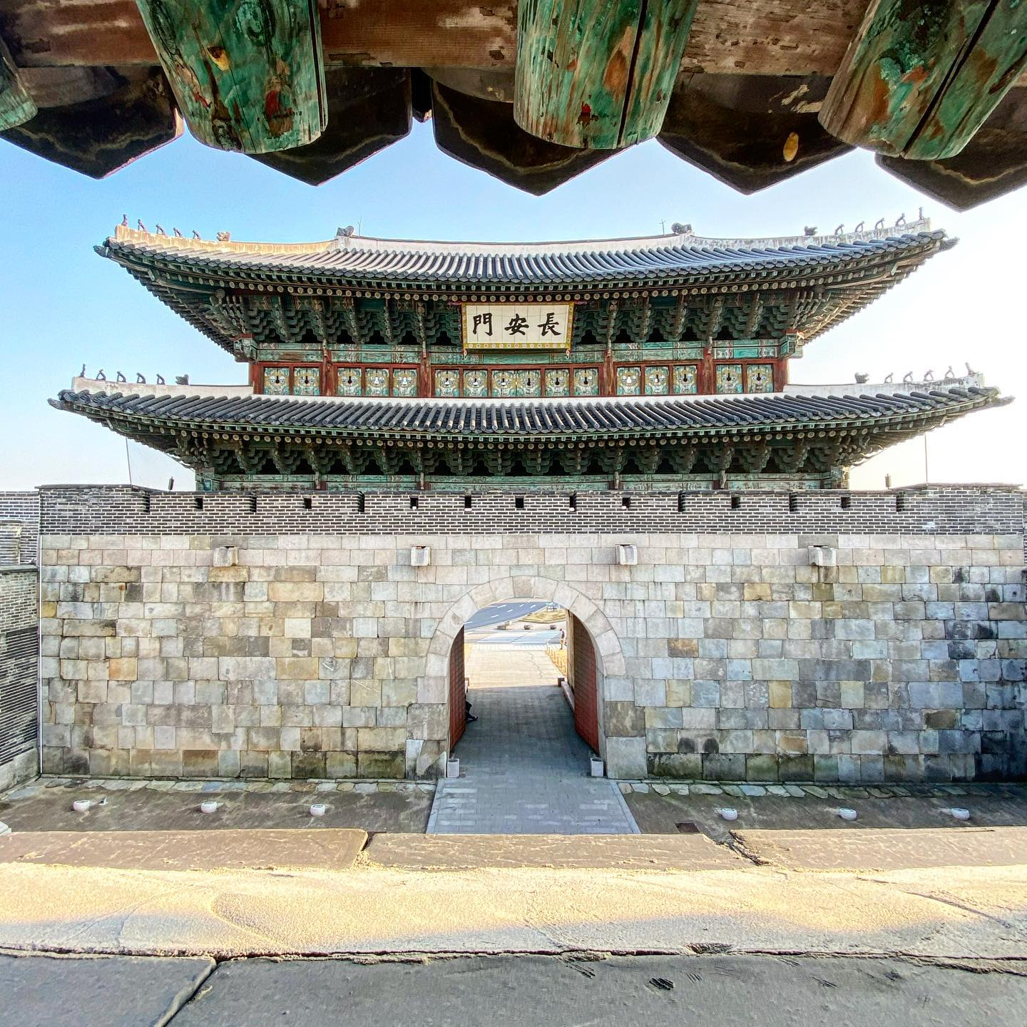 [Hwaseong Fortress] Another UNESCO world heritage site, the Hwaseong Fortress…