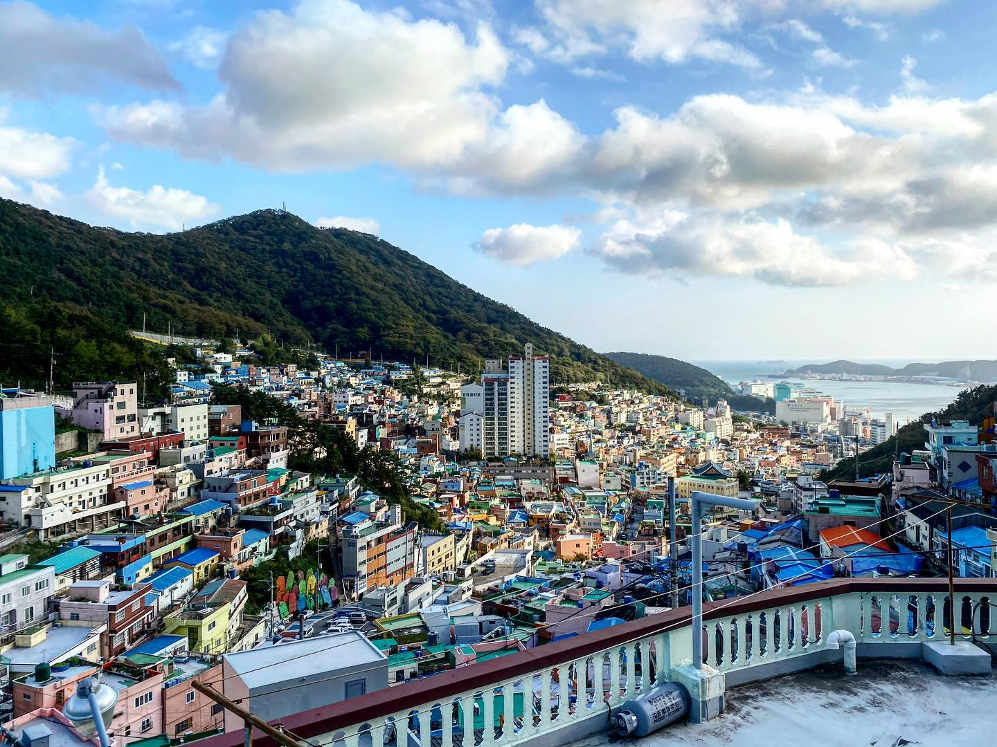 "Also called the ""Macchu Picchu of Busan"", Gamcheon Culture Village…"