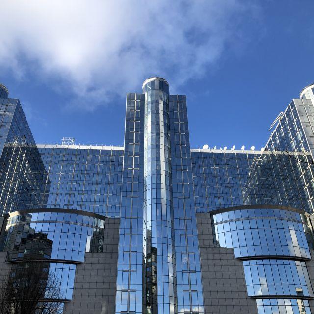 Glasgebäude