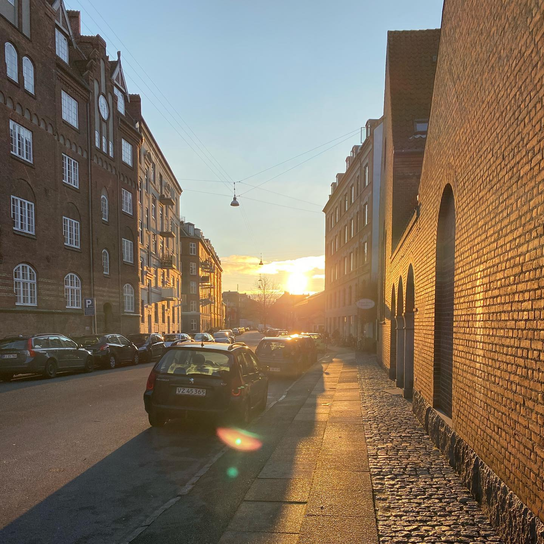 Erste Regel in Kopenhagen im Winter: scheint die Sonne? Dann raus an die…