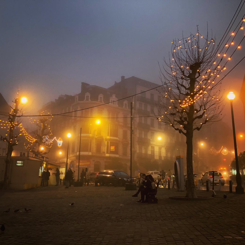 Foggy Brussels #erlebees