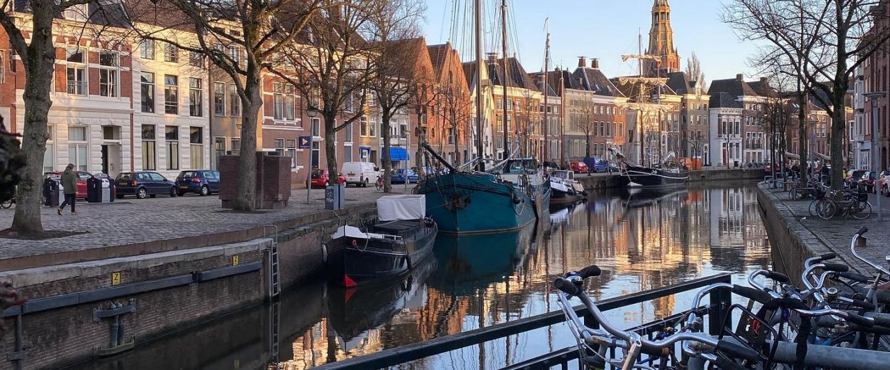 Ein bisschen (sehr) vermisse ich die Straßen und Kanäle Groningens ja…