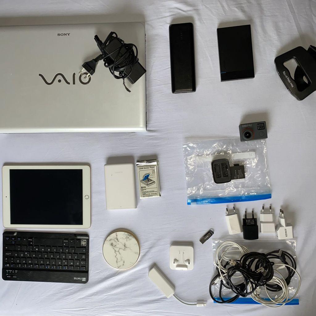 Technische Geräte im Handgepäck
