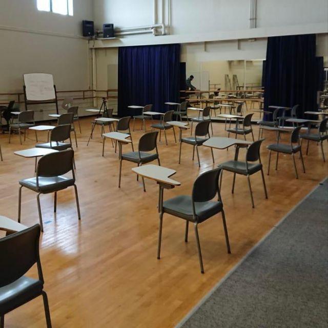 Sporthalle als Unterrichtsort