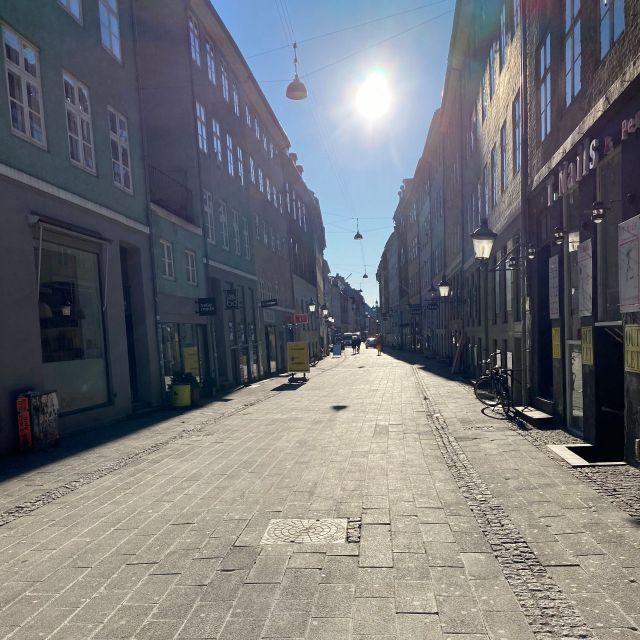 leere Straßen in Kopenhagen