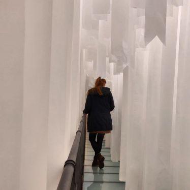 """Besuch der Ausstellung """"Forgiven by Nature"""" von Gianni Pettena.…"""