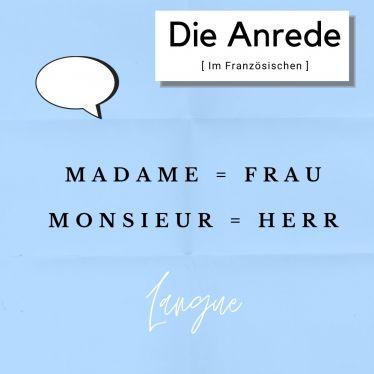 Was mir an der französischen Sprache am besten gefällt? Ich kann jeden mit…