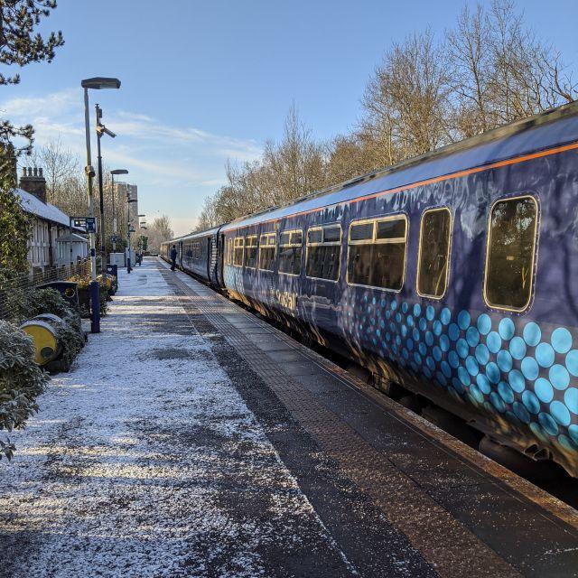 Zug in Schottland.