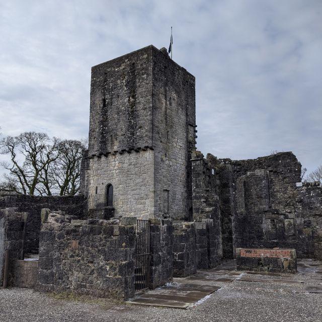 Mugdock Burg in Schottland.