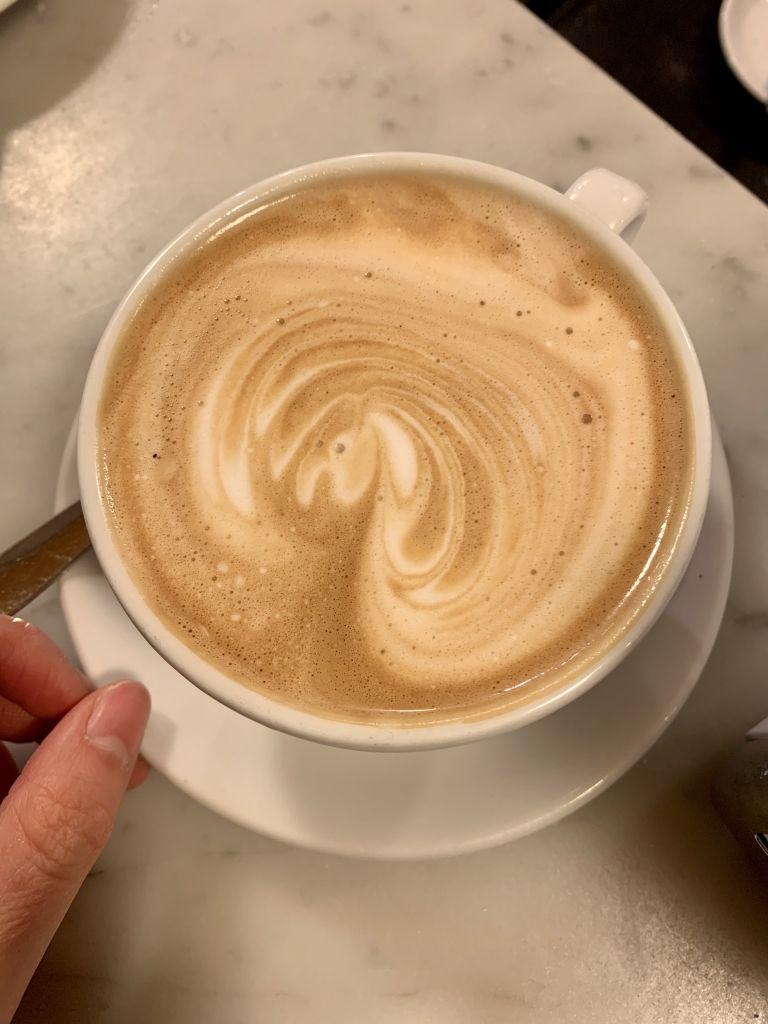 ein cappuccino