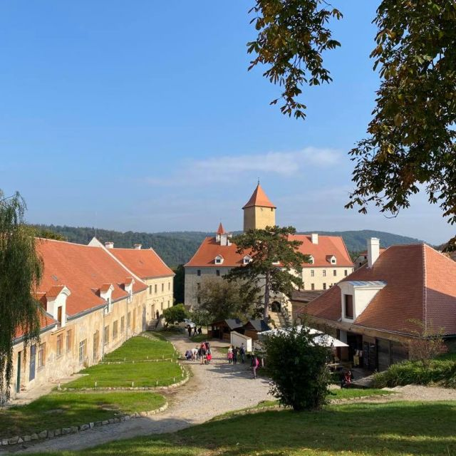 Foto von der Burg Veveri