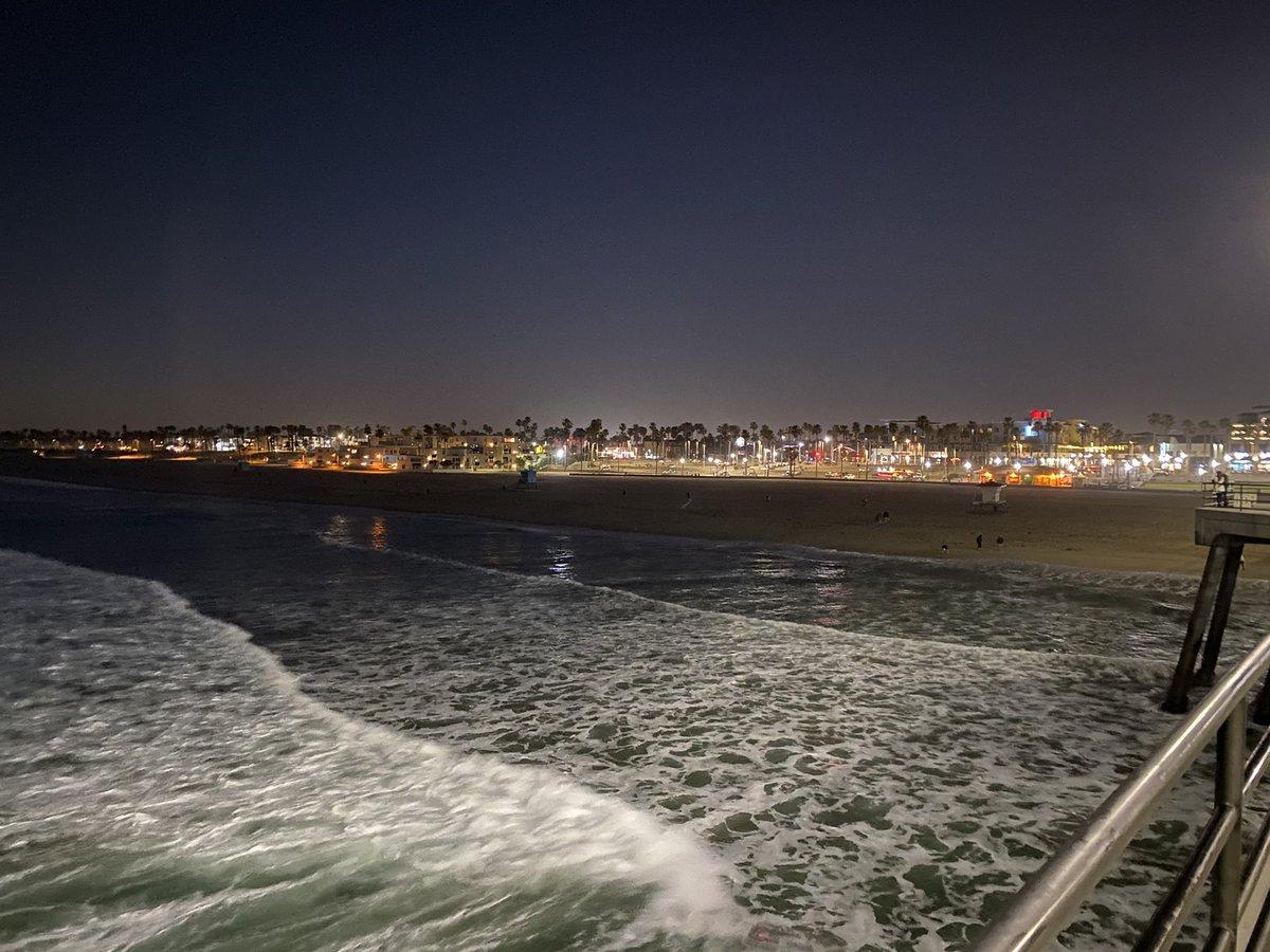Der Huntington Beach Pier ist mit einer Länge von 560m einer der längsten…