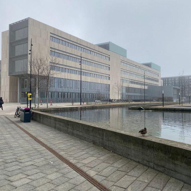 Gebäude auf dem Campus der Uni Kopenhagen