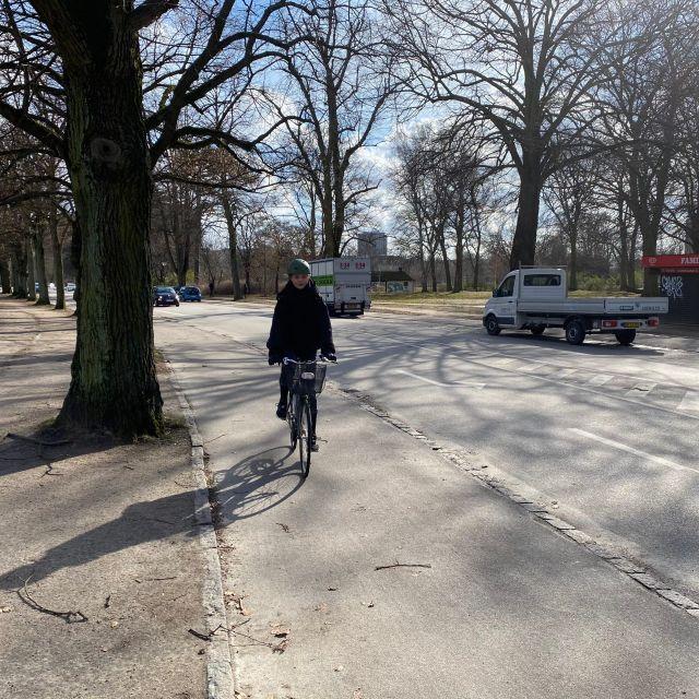 Abenteuer auf dem Fahrrad in Kopenhagen