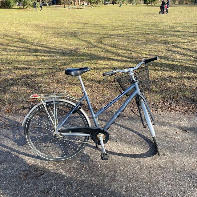 Sarahs Fahrrad