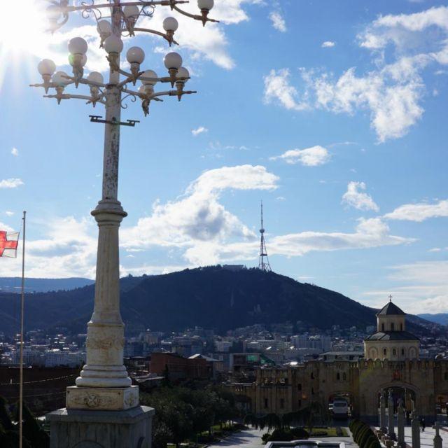 Aussicht über Tbilisi