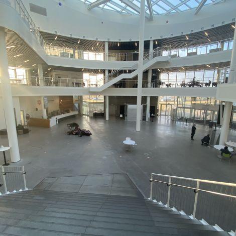 Reykjavik University von innen
