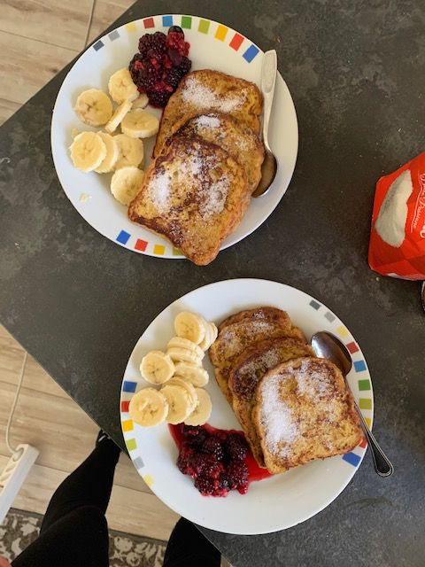 French Toast mit Obst