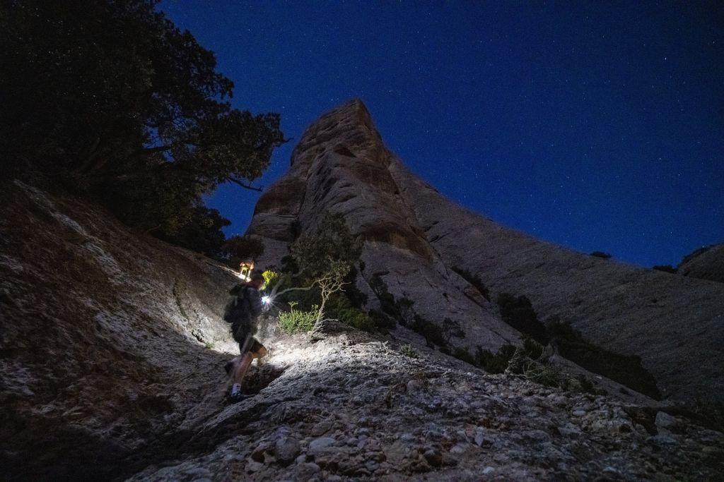 Wanderer bei Nacht