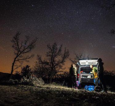 Car camping in Spanien.…