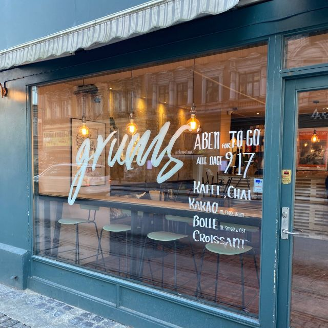Grums Café von außen
