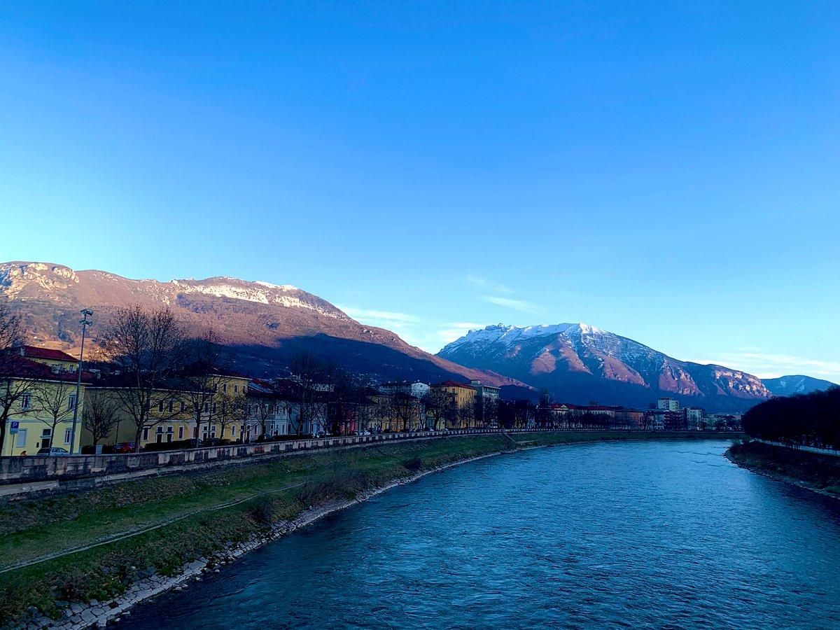 #Joggingrunde einmal um den Adige Fluss in #Trient - ich liebe die noch…