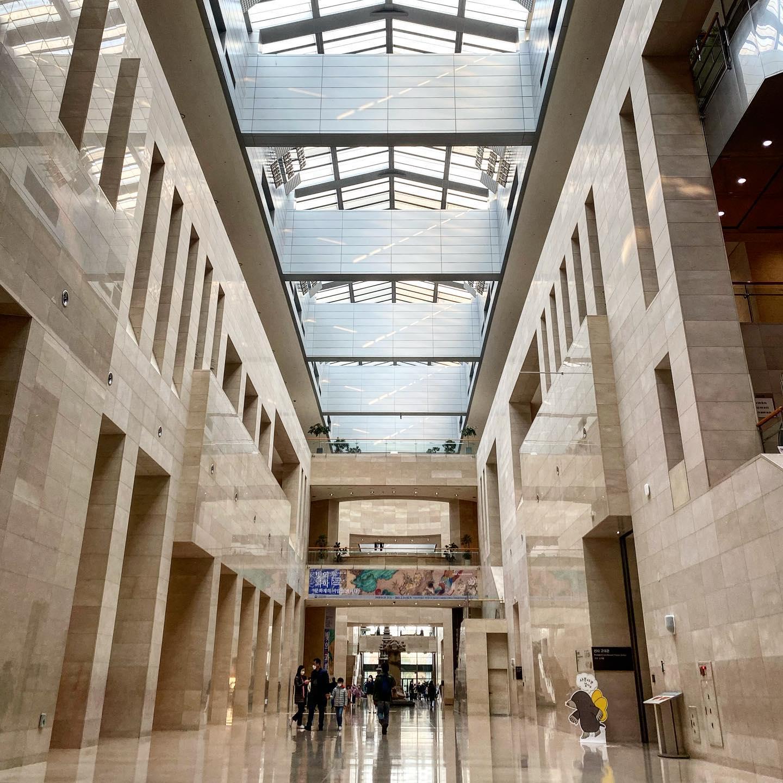 Eines der größten Museen der Welt: das Nationalmuseum Koreas…