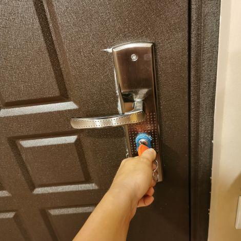 Tür, Schlüssel